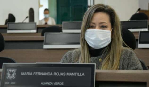 María Fernanda Rojas, concejal de Bogotá