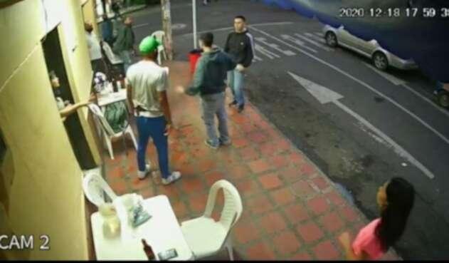 Imagen tomada del video de la cámara de seguridad.