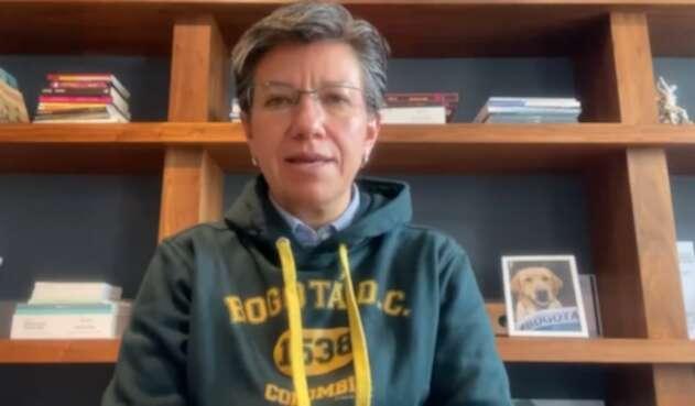 Alcaldesa Claudia López reporta estabilidad en UCI de Bogotá