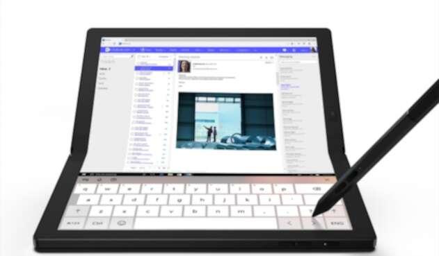 Lenovo ThinkPad X1 Fold, portátil con pantalla plegable