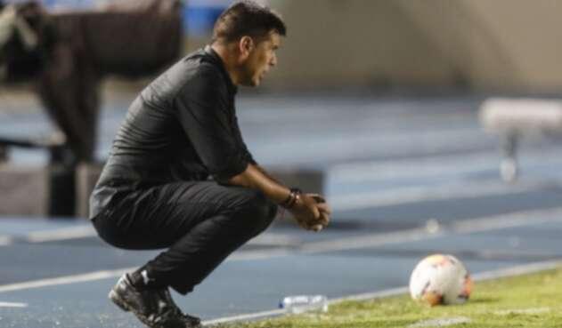 Técnico del América de Cali, el argentino Juan Cruz Real.