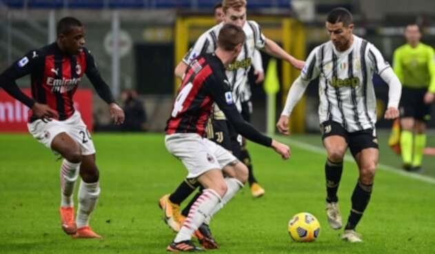 Milan Vs. Juventus - Serie A - Cristiano Ronaldo