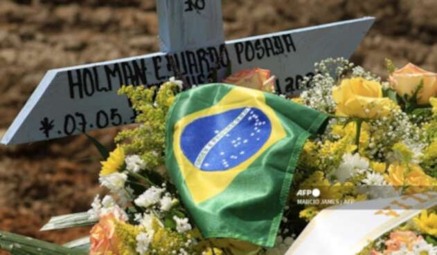 Muerto en Brasil