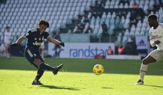 Juan Guillermo Cuadrado, Juventus vs Bolonia