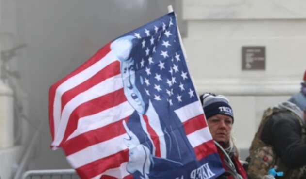 Protestas en Congreso de Estados Unidos