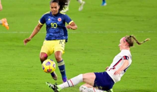 Selección Colombia femenina Vs. Estados Unidos