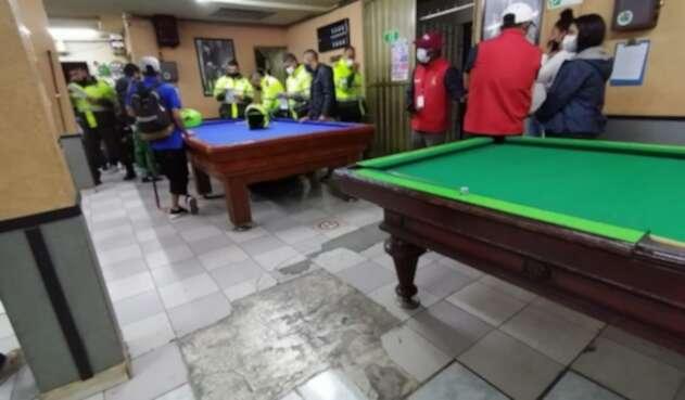 Fiestas clandestinas en Bogotá