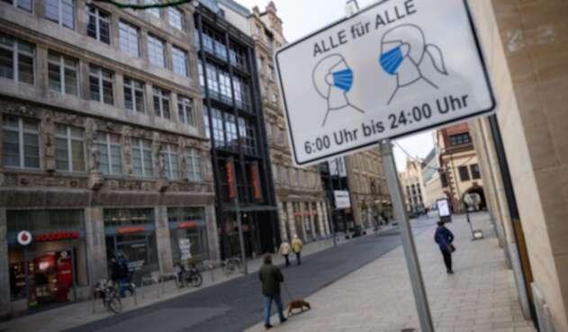 Decretaron un nuevo confinamiento total en Alemania