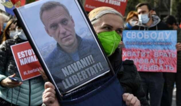 Más de 1.000 arrestos en Rusia en apoyo a Alexei Navalni