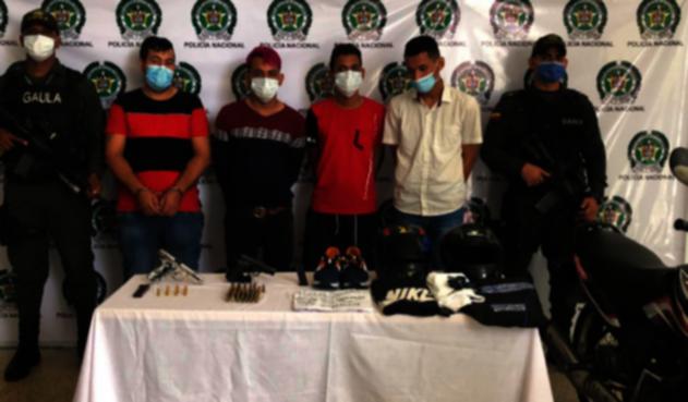Capturados tras atentado con granada en Barranquilla.
