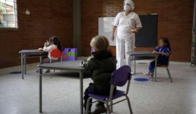 Reapertura de colegios en Bogotá