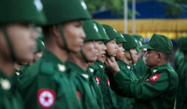 Ejército en Birmania