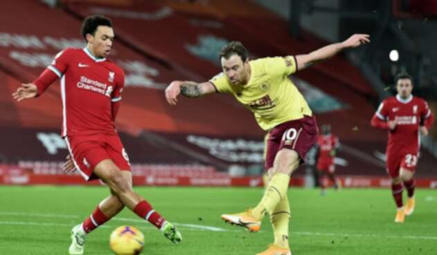 Liverpool Vs. Burnley - Premier League