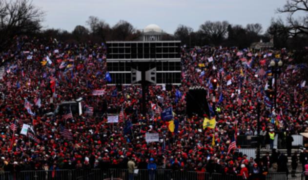 Seguidores de Trump se manifiestan en Washington