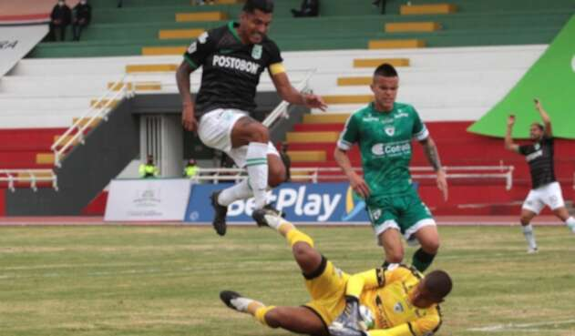 La Equidad Vs. Atlético Nacional - Jefferson Duque