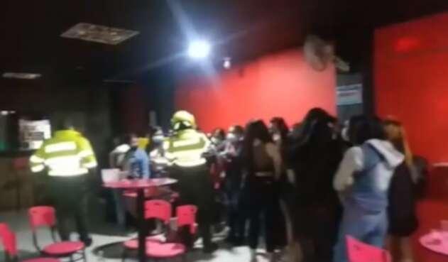 Fiesta de venezolanos