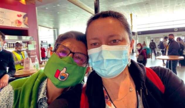 Claudia López y Angélica Lozano vacaciones