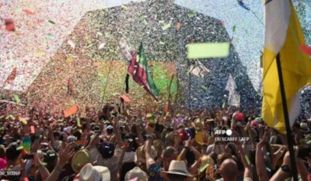 El festival de Glastonbury