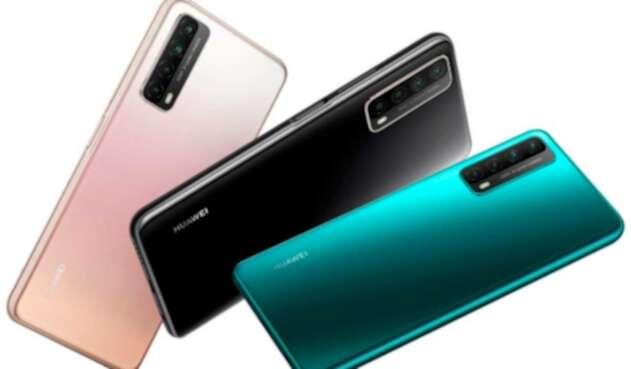 Smartphone gama media Huawei Y7a