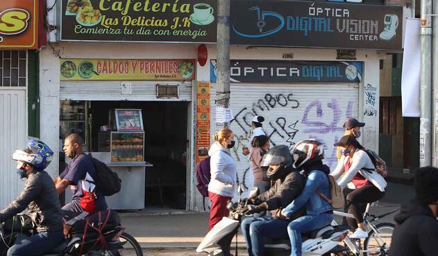 Cuarentena en Bogotá / Protesta de comerciantes por cuarentena / Cuarentena por UPZ
