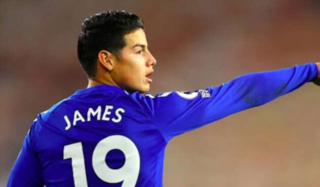 James Rodríguez, Everton