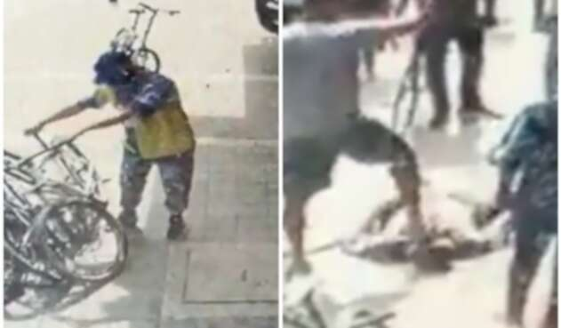 Ladrón de bicicleta