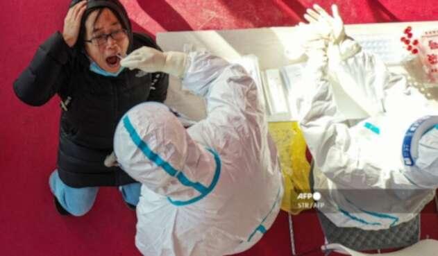 Pruebas de coronavirus en China 2