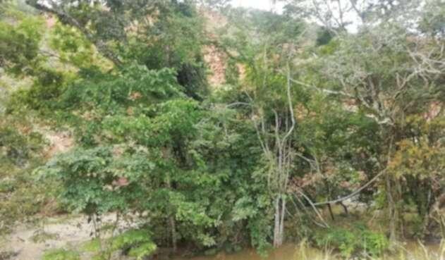 Quebrada Atá en Dolores, Tolima
