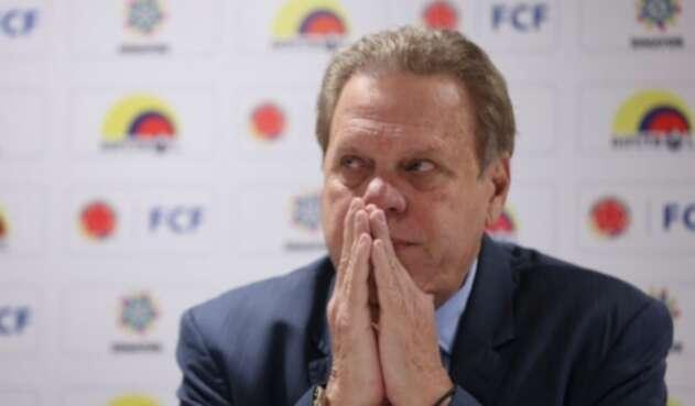 Ramón Jesurún, presidente de la Federación Colombiana de Fútbol