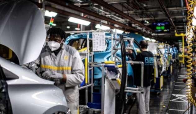 Producción de carros Renault