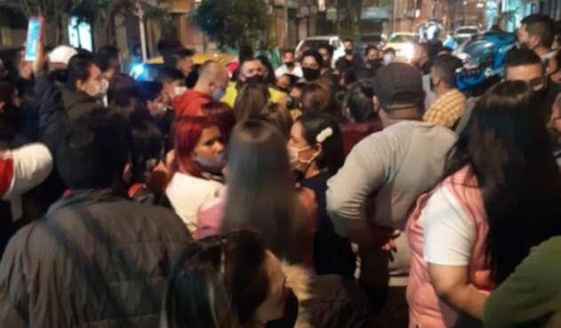 Comerciantes protestaron en Suba
