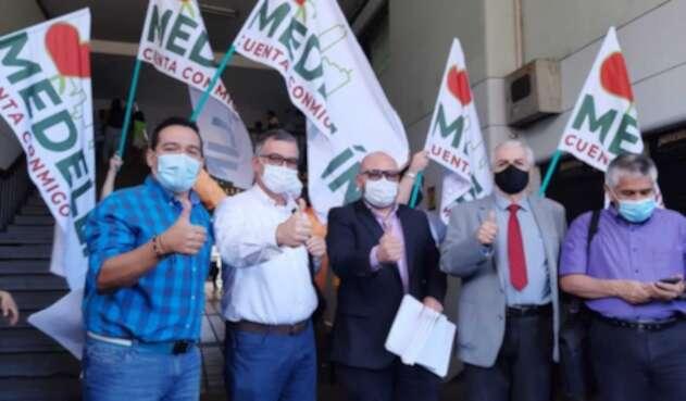 Comité de revocatoria del alcalde de Medellín, Daniel Quintero