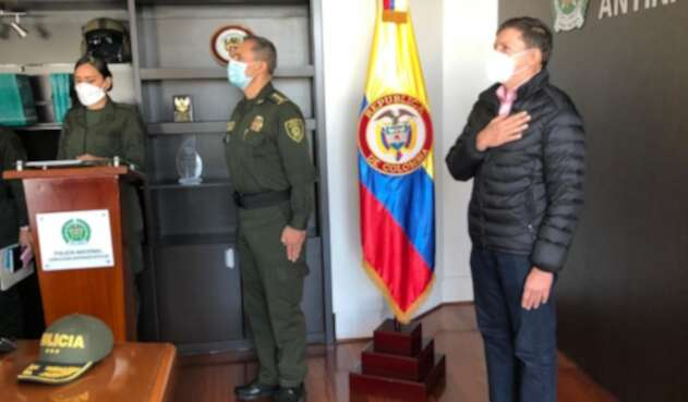 Se posesionó el nuevo director del Inpec, el mayor general Mariano de la Cruz Botero Coy,