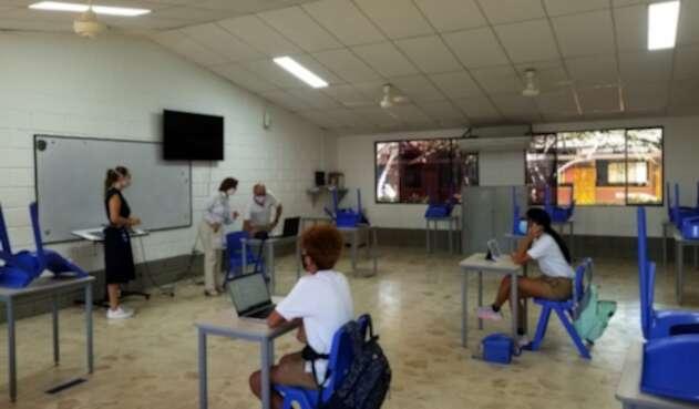 Regreso a clases de colegios privados en Cartagena