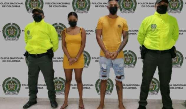 Pareja capturada en Cartagena por pornografía con menor de edad