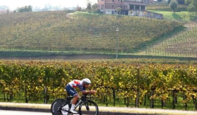 Gianluca Brambilla, ciclista del Team Trek