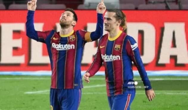 Messi y Griezmann, Barcelona 2021