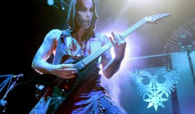 Adam Darski, cantante de la banda Behemoth