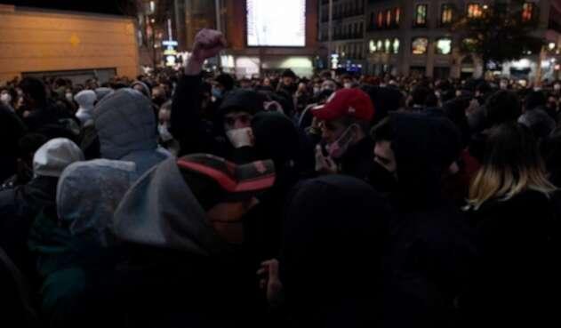 Protestas por encarcelamiento de Pablo Hásel