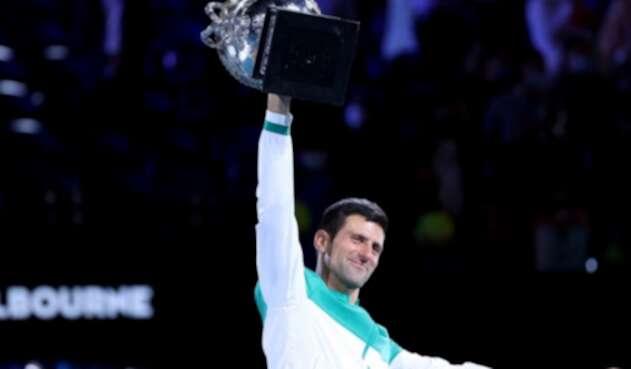 Novak Djokovic gana abierto de Australia