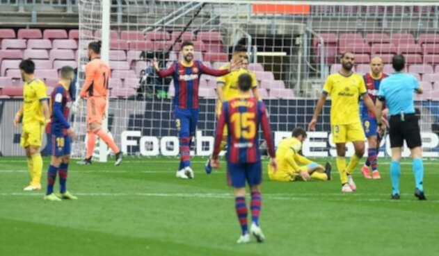 Barcelona vs Cádiz, liga española