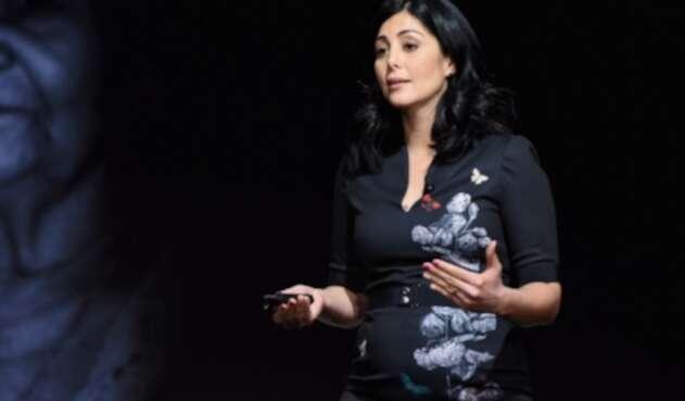 Colombiana Diana Trujillo, líder de la fase de superficie de Mars 2020 Arm Science.