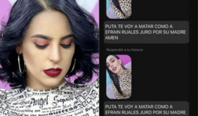Amenazas a María Elisa Padilla