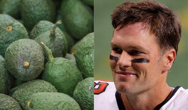 Aguacate hass y Tom Brady