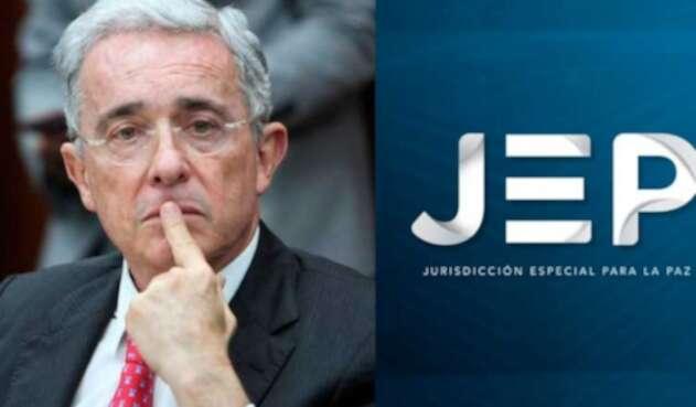Álvaro Uribe y la JEP