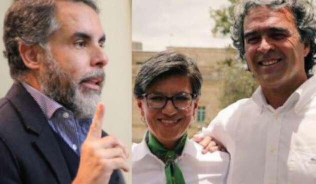 Armando Benedetti lanzó pullas a Claudia López y Sergio Fajardo
