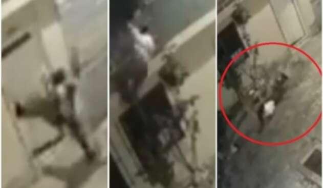 Mujer se lanza desde el balcón de su casa para evitar ser agredida por su pareja