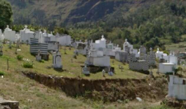 Cementerio de Cáqueza