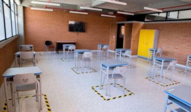 Regreso a los colegios en Bogotá