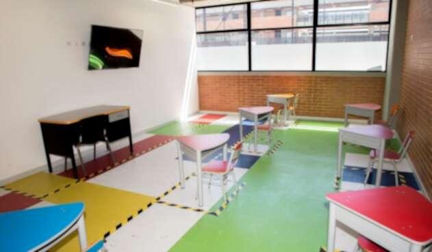 Este 8 de febrero reabrieron las puertas los colegios privados de Bogotá